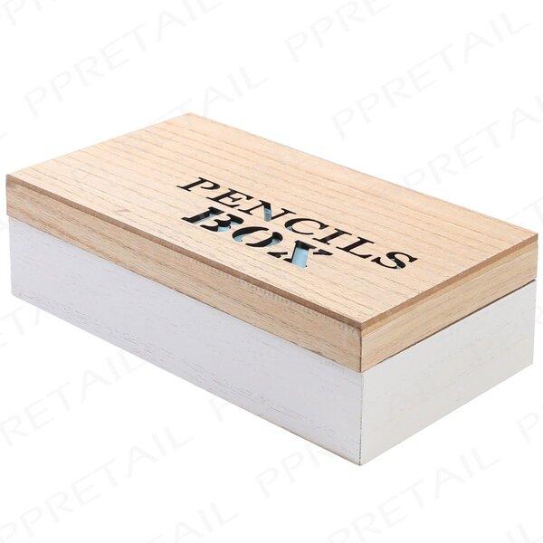 Dėžutė pieštukams 22x12x6 cm, 1 vnt. kaina ir informacija | Kanceliarinės prekės | pigu.lt