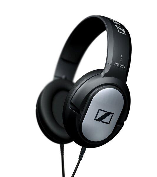Ausinės SENNHEISER HD 201, Juodos kaina ir informacija | Ausinės, mikrofonai | pigu.lt