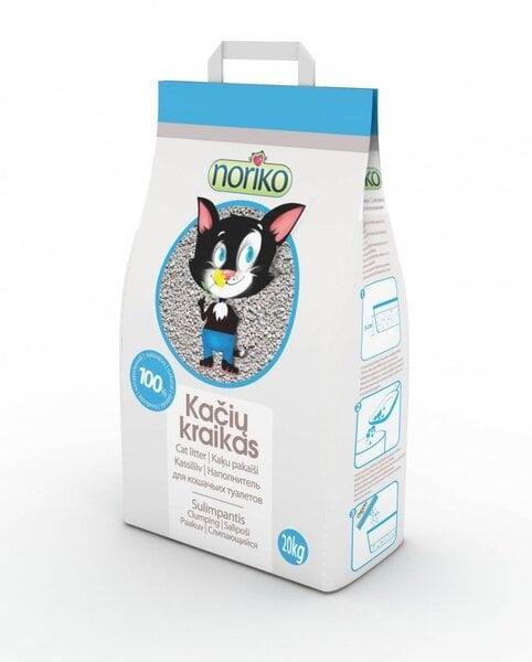 Bentonitinis kačių kraikas Noriko 20 kg kaina ir informacija | Kraikas katėms | pigu.lt