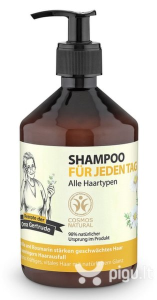 Stiprinantis šampūnas Oma Gertrude 500 ml kaina ir informacija | Šampūnai | pigu.lt