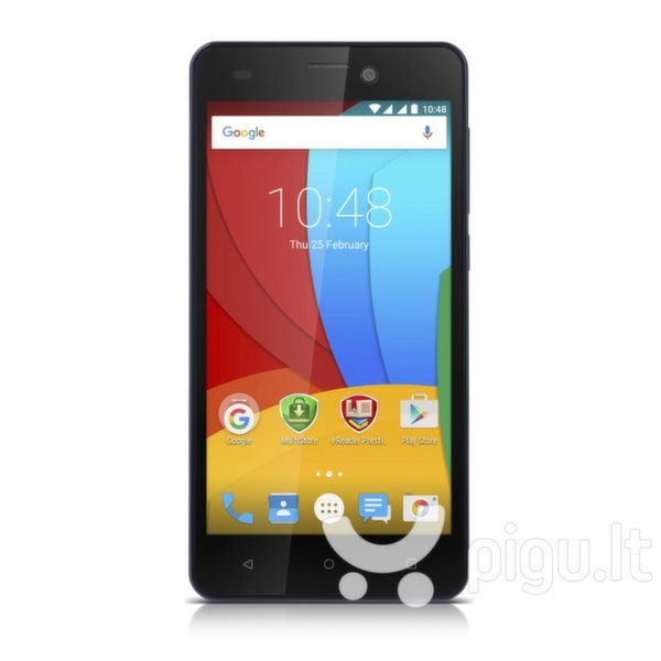 Prestigio Muze A5 (PSP5502DUO) Dual SIM, Balta kaina ir informacija | Mobilieji telefonai | pigu.lt