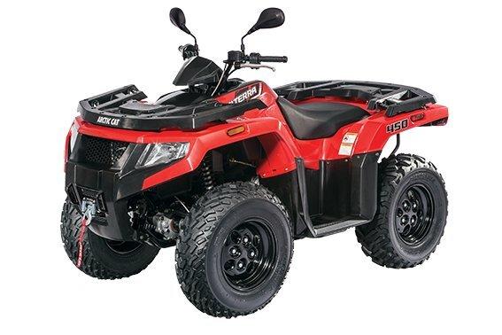 Keturratis motociklas Arctic Cat Alterra 450 kaina ir informacija | Keturračiai | pigu.lt