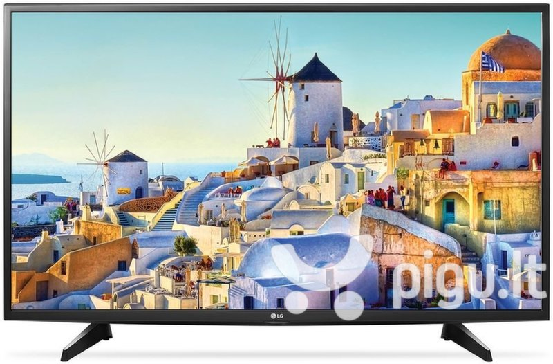 LG 49UH6107 kaina ir informacija | Televizoriai | pigu.lt