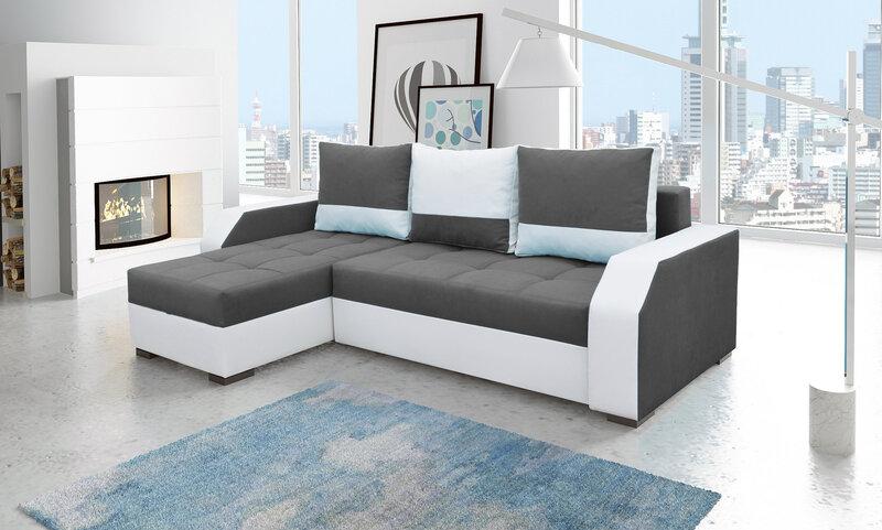 Universalus kampas Aris kaina ir informacija | Sofos, foteliai ir minkšti kampai | pigu.lt