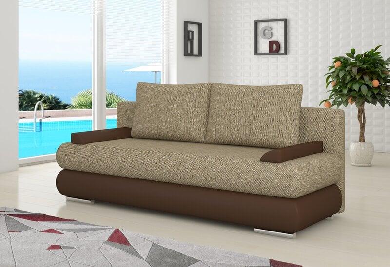 Sofa Milo kaina ir informacija | Sofos, foteliai ir minkšti kampai | pigu.lt