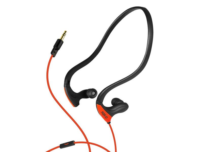 SBS Runway Pro ausinės sportui, Oranžinės kaina ir informacija | Ausinės, mikrofonai | pigu.lt