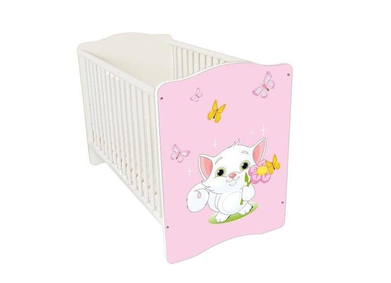 Kūdikio lovytė Amila Baby (16) kaina ir informacija | Vaiko kambario baldai | pigu.lt