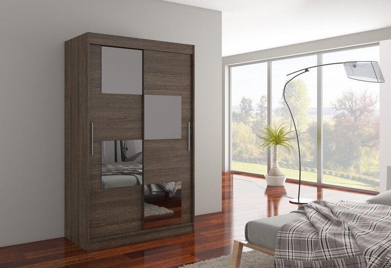 Spinta Lugano kaina ir informacija | Spintos | pigu.lt