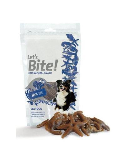 Brit Care Let's Bite skanėstai šunims su jūros gėrybėmis, 70 g kaina ir informacija | Skanėstai šunims | pigu.lt
