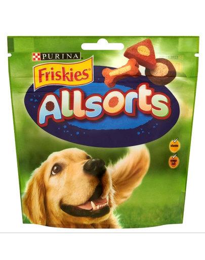 Friskies Allsorts skanėstai, 98 g kaina ir informacija | Skanėstai šunims | pigu.lt