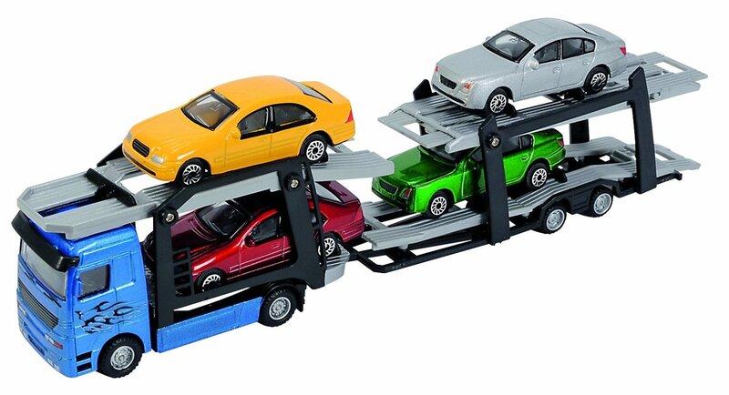 Autotransporteris su 4 mašinėlėmis Simba, 203745000, 1 vnt. kaina ir informacija | Žaislai berniukams | pigu.lt