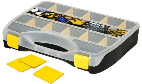 Dėžė Organizer Domino 36 kaina ir informacija | Įrankių dėžės, laikikliai | pigu.lt