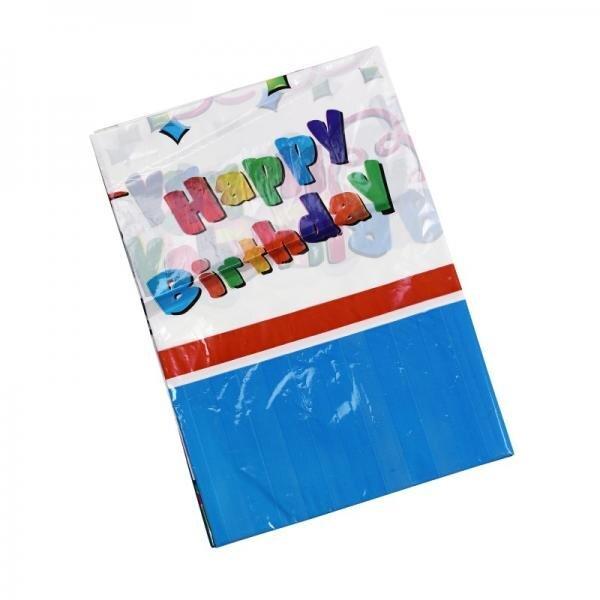 Staltiesė Happy Birthday kaina ir informacija   Dekoracijos, indai šventėms   pigu.lt