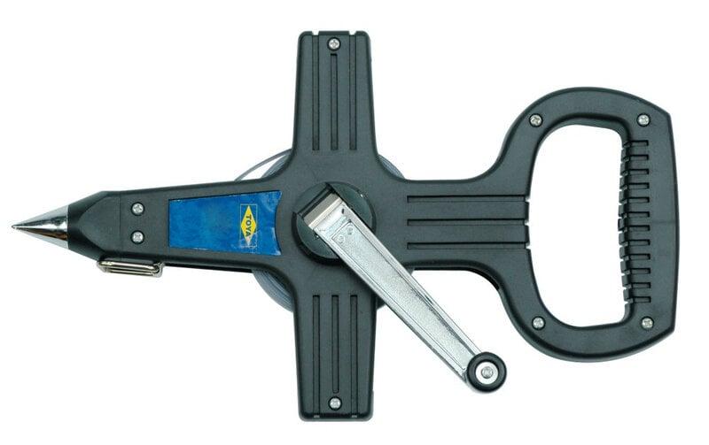 Ruletė geodezinė plieninė Vorel 30m kaina ir informacija | Mechaniniai įrankiai | pigu.lt