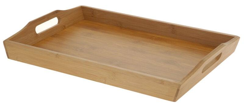 Bambukinis padėklas kaina ir informacija | Virtuvės, stalo įrankiai | pigu.lt