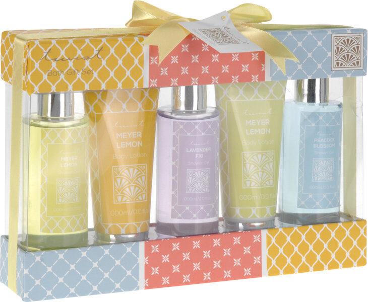 Vonios rinkinys Twist Lemon Lavender Blossom kaina ir informacija | Dušo želė, muilas | pigu.lt