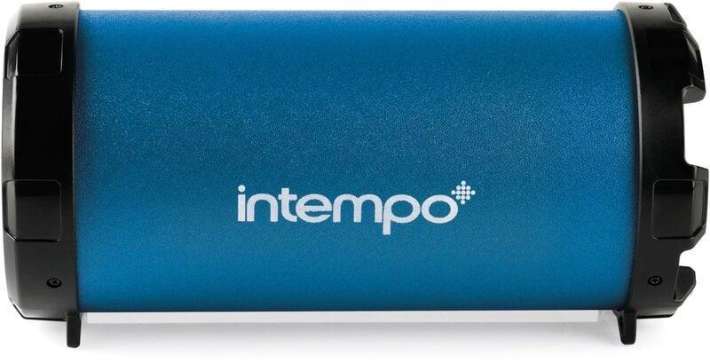 Garso kolonėlė Intempo Large Tube(Bluetooth), Navy Mėlyna kaina ir informacija | Garso kolonėlės | pigu.lt