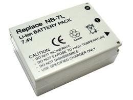 Canon, baterija NB-7L kaina ir informacija | Akumuliatoriai fotoaparatams | pigu.lt