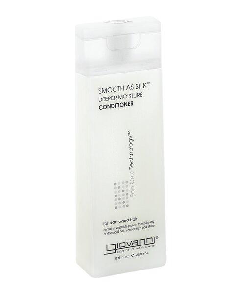 Natūralus gydantis, giliai drėkinantis kondicionierius pažeistiems plaukams Giovanni 250 ml kaina ir informacija | Balzamai, kondicionieriai | pigu.lt