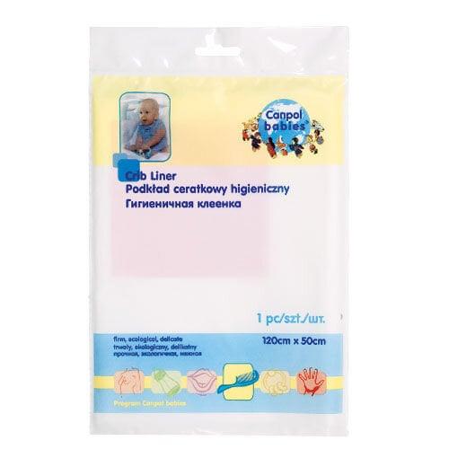 Higieninis paklotas Canpol 120x50 cm kaina ir informacija | Sauskelnės, vystyklai | pigu.lt