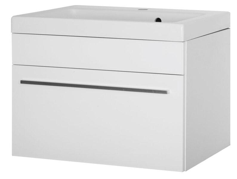 Vonios spintelė su kriaukle Atos 60 cm kaina ir informacija | Vonios baldai | pigu.lt