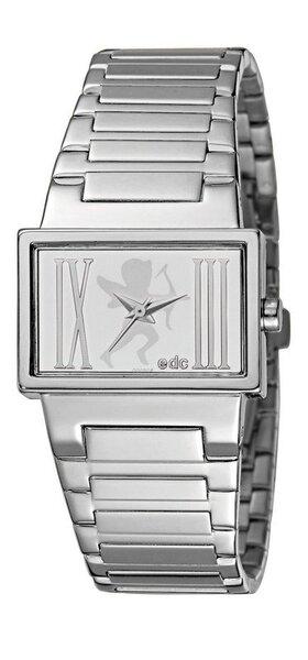 Laikrodis moterims edc by esprit Lovely Heartbreaker Sparkling Silver kaina ir informacija | Laikrodžiai moterims | pigu.lt
