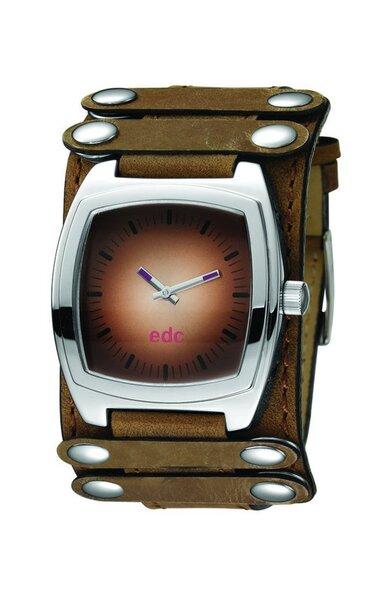 Laikrodis moterims edc by esprit Bitter Flame Vintage Brown kaina ir informacija | Laikrodžiai moterims | pigu.lt