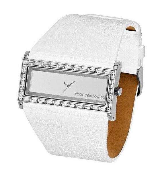 Laikrodis moterims Roccobarocco Zebra White kaina ir informacija | Laikrodžiai moterims | pigu.lt