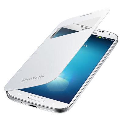 S-View Cover, skirtas Samsung Galaxy S4 kaina ir informacija | Telefono dėklai | pigu.lt