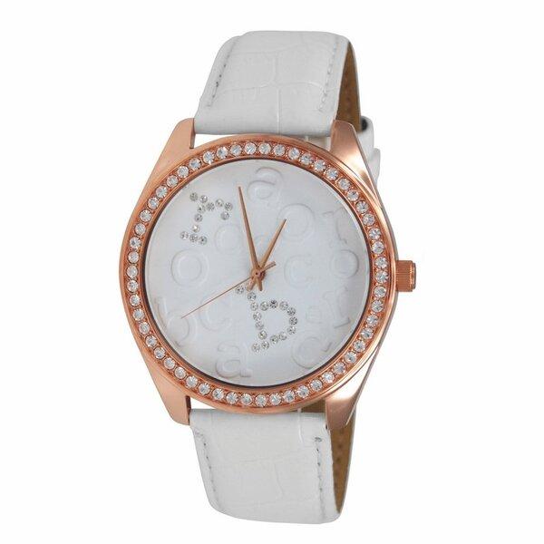 Laikrodis Roccobarocco Rome White Gold kaina ir informacija | Laikrodžiai moterims | pigu.lt