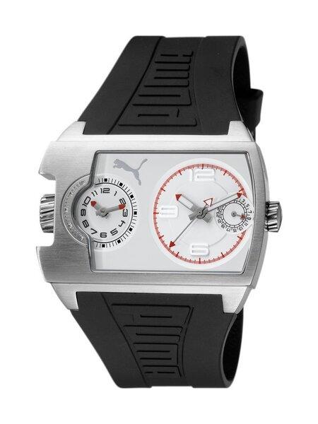 Vyriškas laikrodis Puma Traffic Silver White PU102421001 kaina ir informacija | Vyriški laikrodžiai | pigu.lt