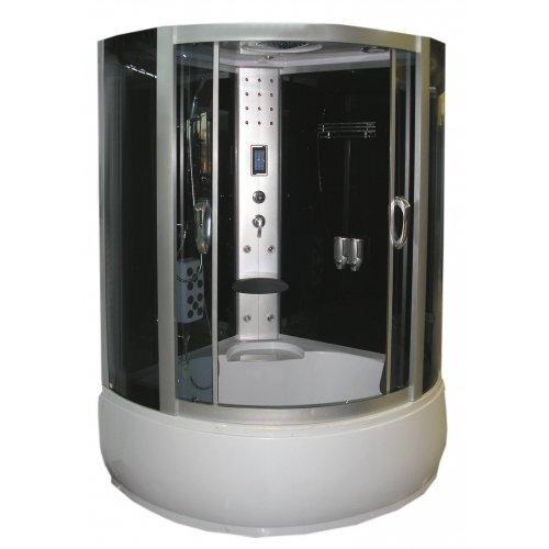 Hidromasažinė dušo kabina - garo pirtis K610T su jacuzzi kaina ir informacija | Hidromasažinės dušo kabinos | pigu.lt