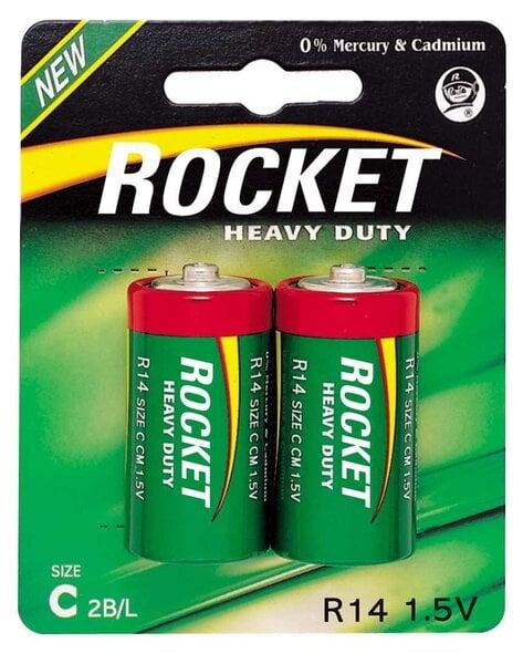 Rocket Heavy Duty C elementai 2 vnt. kaina ir informacija | Elementai | pigu.lt