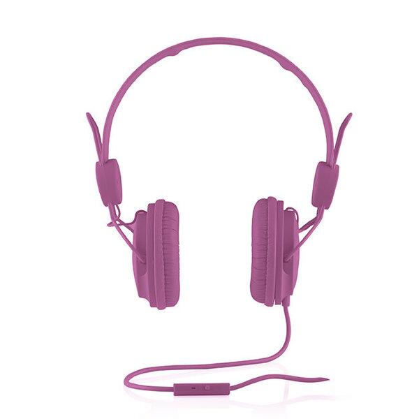 Ausinės Modecom MC-400 Fruitty, Violetinės kaina ir informacija | Ausinės, mikrofonai | pigu.lt