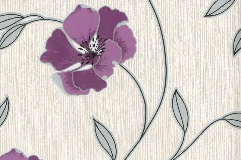 Pandora Alyvinės gėlės kaina ir informacija | Tapetai | pigu.lt