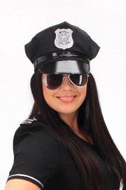 Policininko kepurė, juoda kaina ir informacija | Karnavaliniai kostiumai | pigu.lt