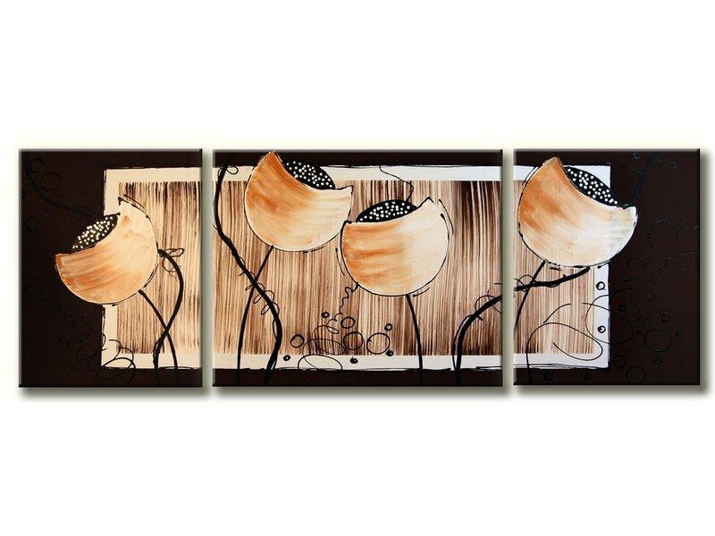Trijų dalių tapytas paveikslas kaina ir informacija | Reprodukcijos, paveikslai | pigu.lt