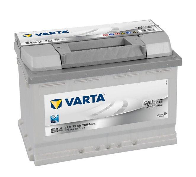 Akumuliatorius VARTA SILVER 77AH 780A E44 kaina ir informacija | Akumuliatoriai | pigu.lt