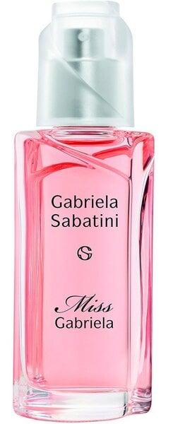 Tualetinis vanduo Gabriela Sabatini Miss Gabriela EDT moterims 60 ml kaina ir informacija | Kvepalai moterims | pigu.lt
