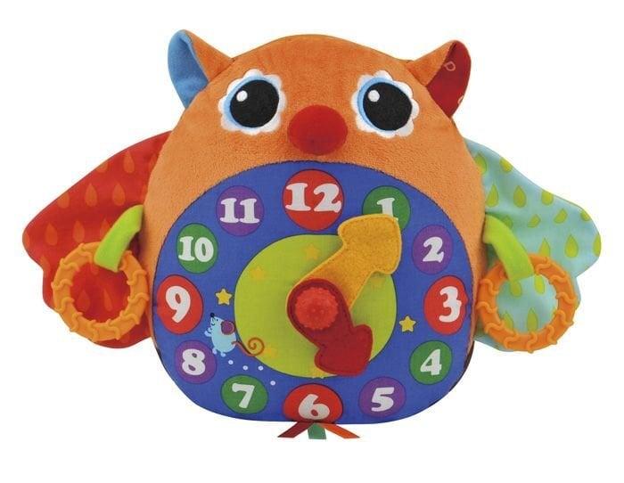 Mokomasis laikrodis K's Kids Pelėda  kaina ir informacija | Žaislai kūdikiams | pigu.lt