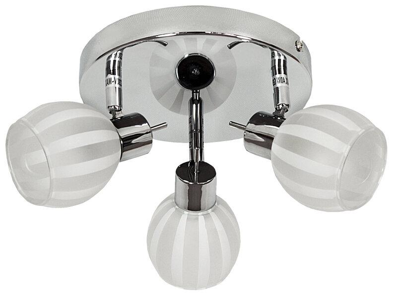 Lubinis šviestuvas Bars Silver III kaina ir informacija | Lubiniai šviestuvai | pigu.lt