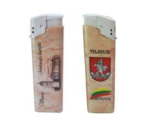 "Žiebtuvėlis ""Vilnius-Arkikatedra"" kaina ir informacija | Lietuviška sirgalių atributika | pigu.lt"