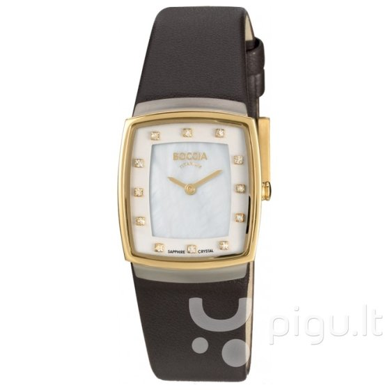 Laikrodis moterims Boccia Titanium 3237-02 kaina ir informacija | Laikrodžiai moterims | pigu.lt