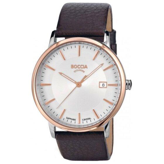Vyriškas laikrodis Boccia Titanium 3557-04 kaina ir informacija | Vyriški laikrodžiai | pigu.lt