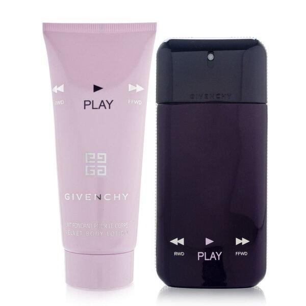 Rinkinys Givenchy Play for Her Intense: EDP moterims 50 ml + kūno pienelis 75 ml kaina ir informacija | Kvepalai moterims | pigu.lt