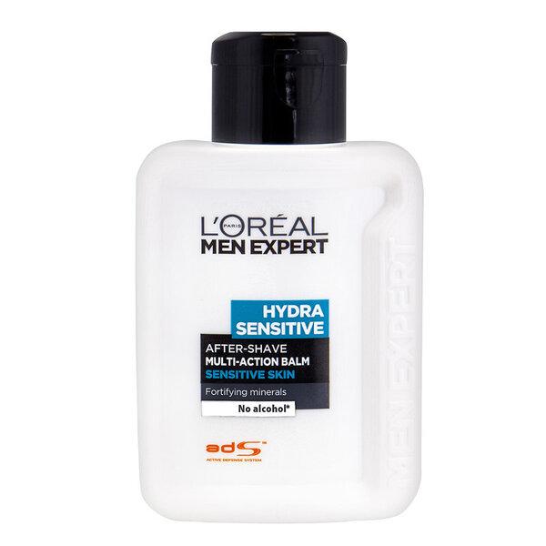 Balzamas po skutimosi jautriai odai L'Oreal Paris Men Expert Hydra Sensitive 100 ml kaina ir informacija | Skutimosi priemonės ir kosmetika | pigu.lt
