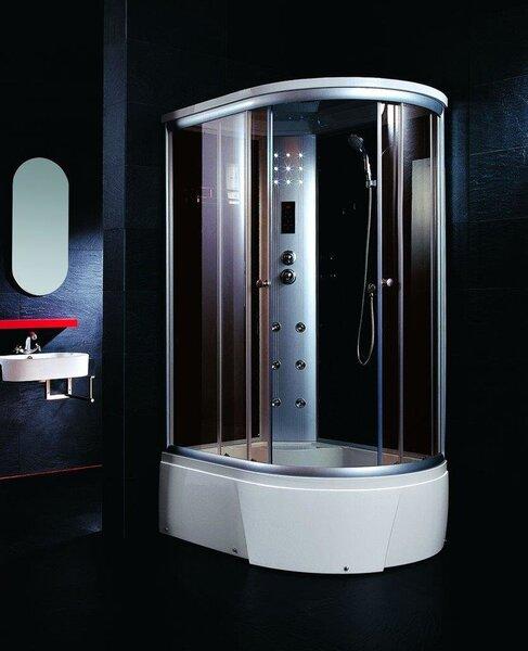 Hidromasažinė dušo kabina NOVE OW-T18 Kairinė kaina ir informacija | Hidromasažinės dušo kabinos | pigu.lt