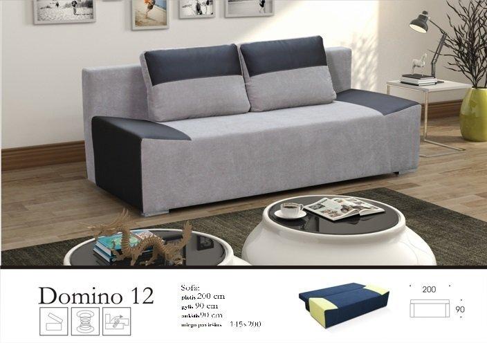 Sofa Domino kaina ir informacija | Sofos, foteliai ir minkšti kampai | pigu.lt