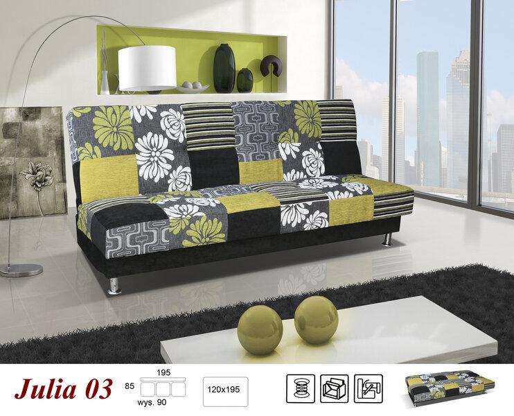 Sofa Julia kaina ir informacija | Sofos, foteliai ir minkšti kampai | pigu.lt