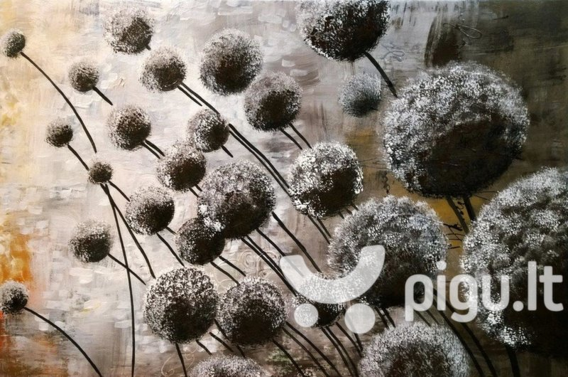 Tapytas paveikslas Pumpurai, storu porėmiu kaina ir informacija | Reprodukcijos, paveikslai | pigu.lt